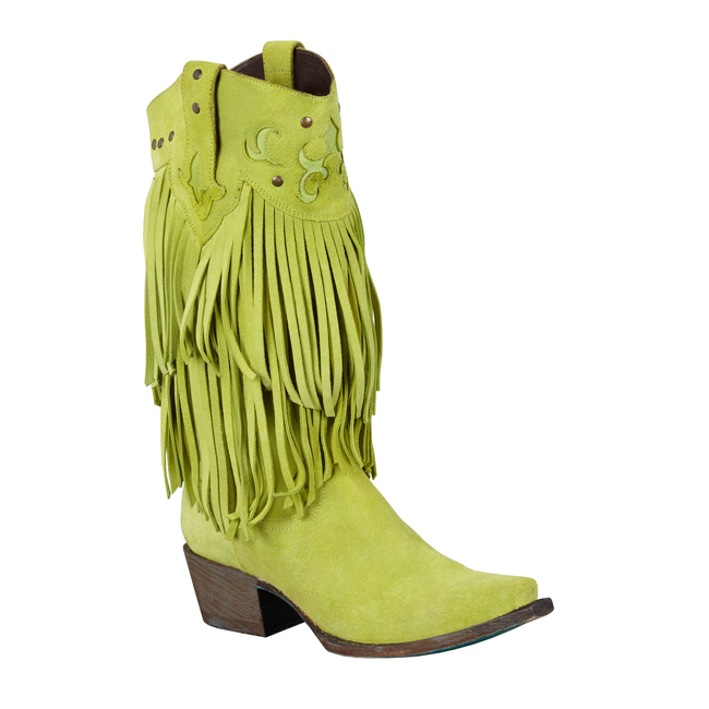 Santa Rosa in Lime by Lane Boots