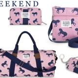 Sloane Ranger Horse Print Bag- Weekend Want on Horses & Heels