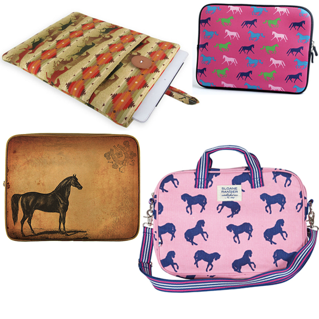 8 Equestrian Laptop and Tablet Cases   Horses & Heels