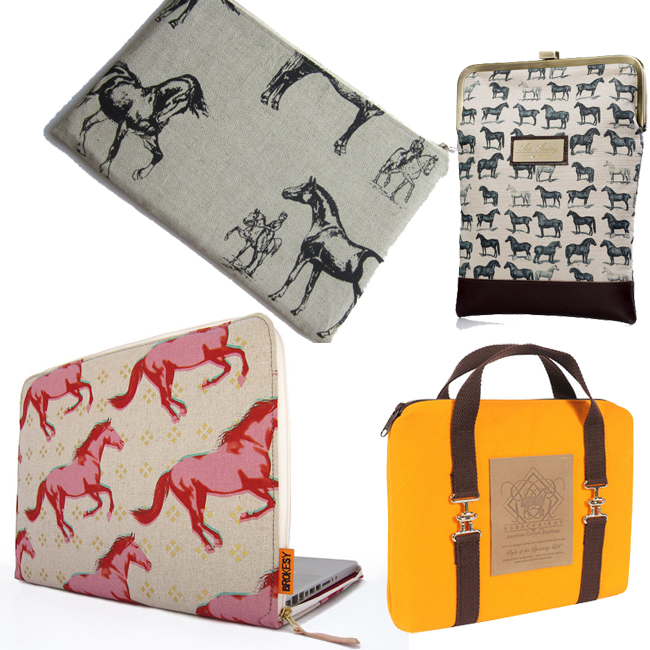 8 Equestrian Laptop and Tablet Cases