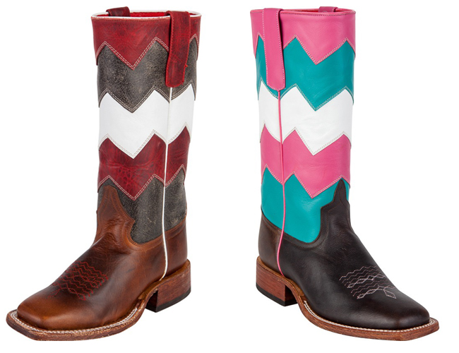 Chevron Anderson Bean Kid's Boots