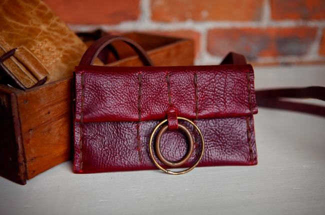 Designer Spotlight - Cibado Leather Clutch