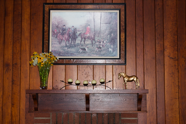 Equestrian Decor, A styled Mantle