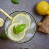 Ginger Lemonade, a traditional lemonade gets a new spin with fresh ginger root
