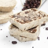 Homemade Coffee Mint Soap Bars