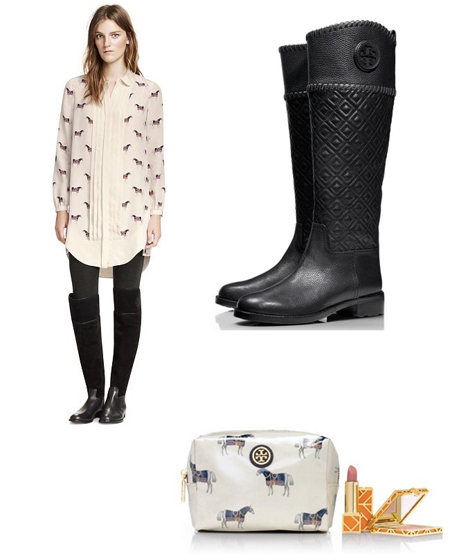 Tory Burch Fall Favorites - Horses & Heels
