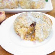 Baked Peaches, breakfast or dessert