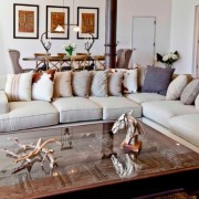 Chic Styling with Cowhide Pillows