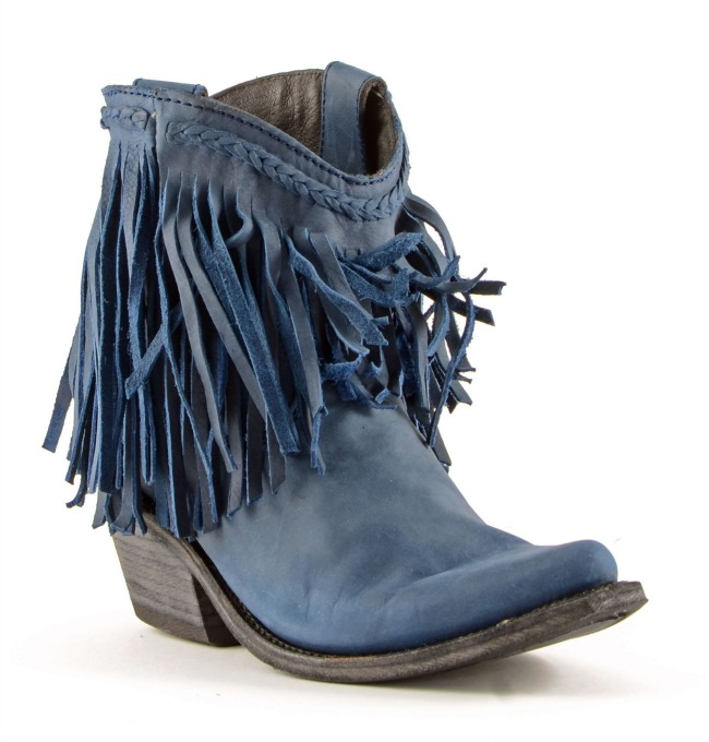 Russian Blue Liberty Black Boots