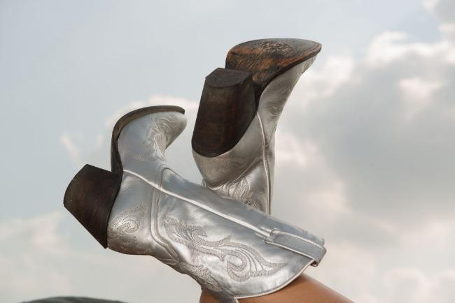 Horses & Heels | Trend Alert: Silver Cowboy Boots