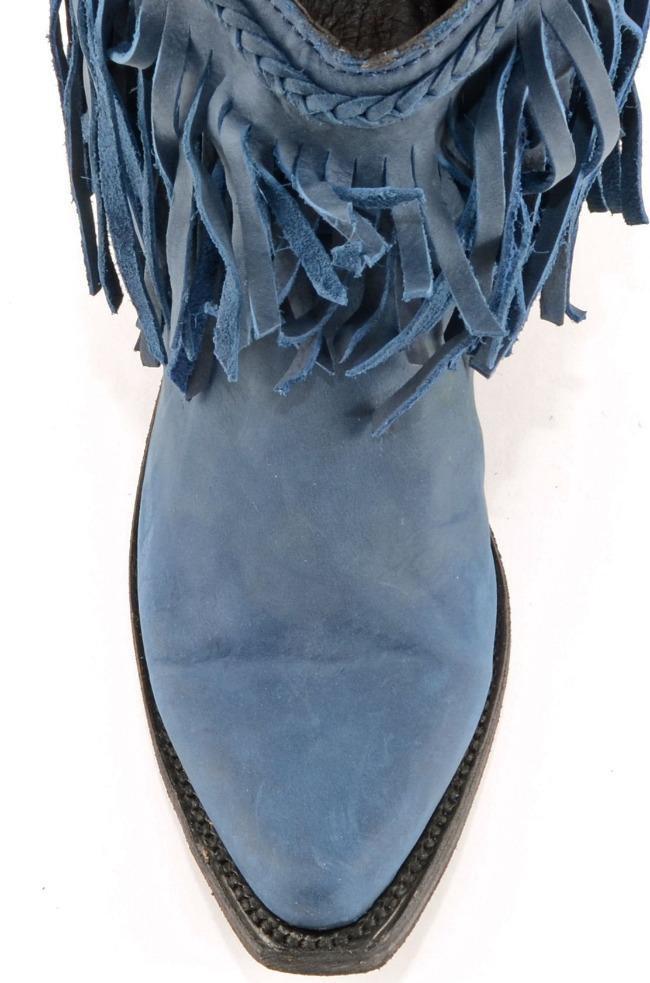 Russian Blue Liberty Black Boot