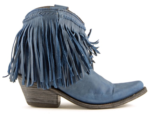 Russian Blue Liberty Black Vegas Boots