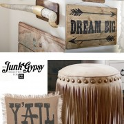 The Junk Gypsy Collection for Pottery Barn Teen