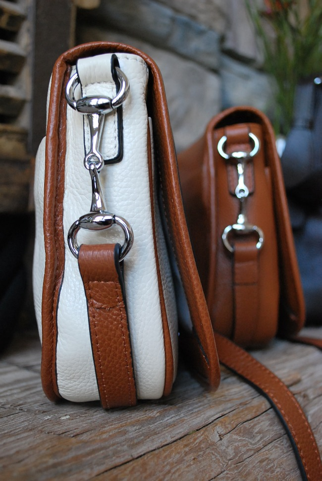 Camden Crossbody, Egg Butt Snaffle Bit Hardware