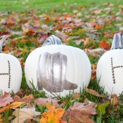 Cowboy Boot and Initial Studded Pumpkins by Horses & Heels