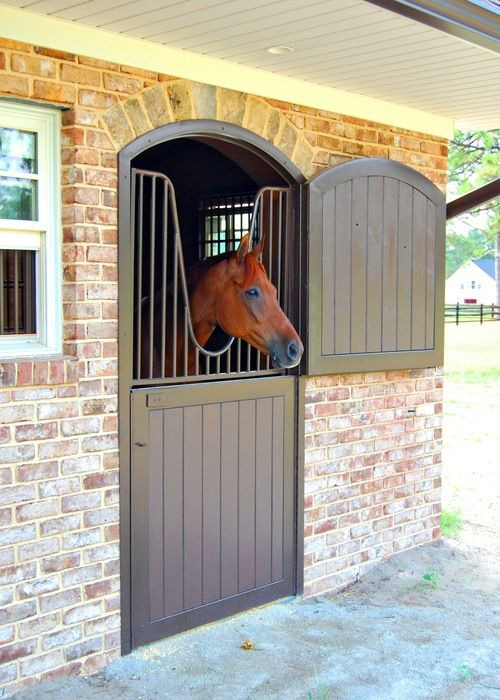 Dutch Doors and Brick Stable