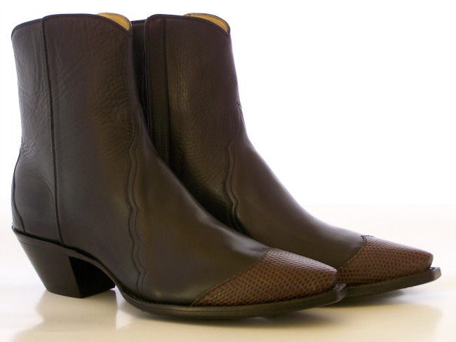 Chocolate Cowboy Boots