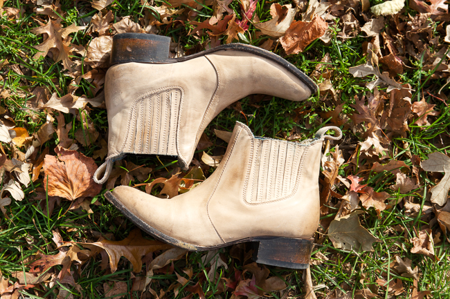 Freebird Lasso Short Boots in Natural