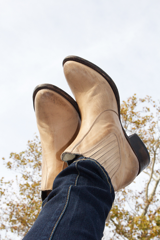 Freebird by Steve Lasso Short Boots in Natural