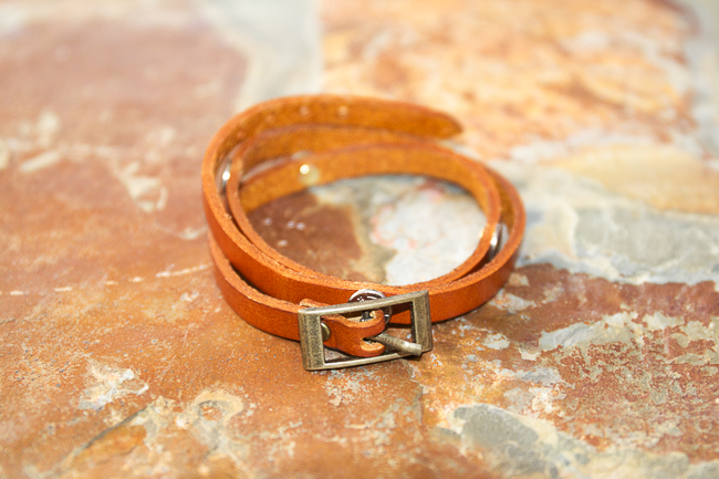 Leather Wrap Bracelet Review + Giveaway