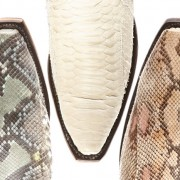 Lucchese Python Toes