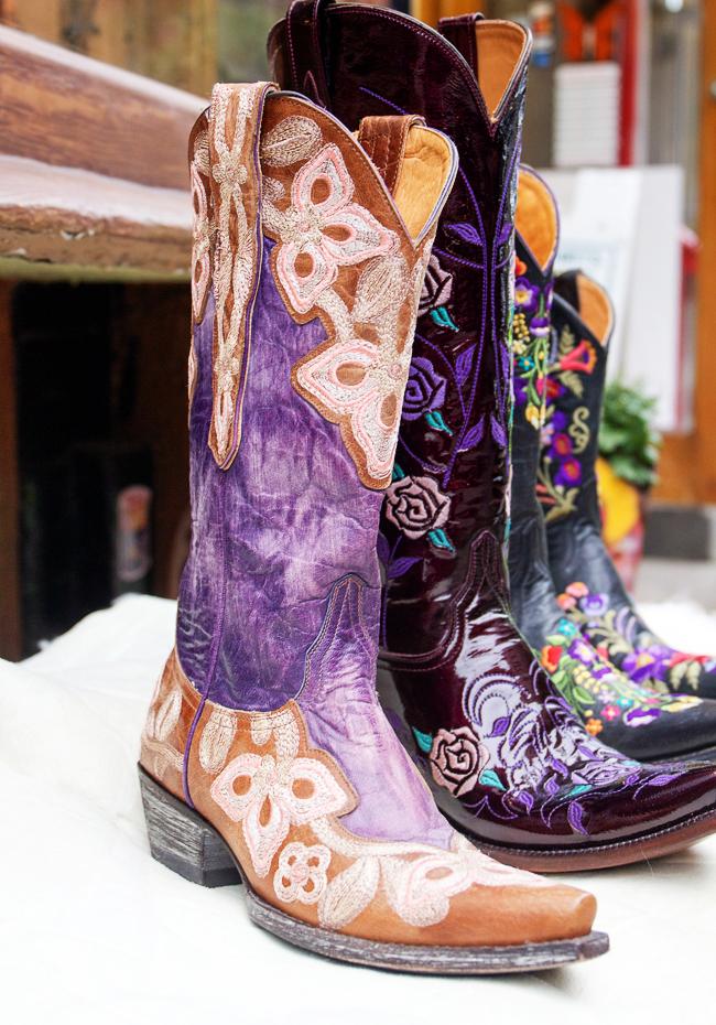 Marianne Violet Old Gringo cowboy boots