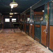 Beautiful Brick Barn Aisle | Stable Style