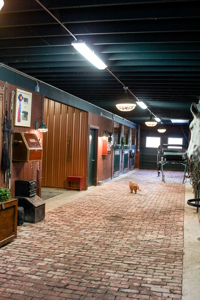 Brick Barn Aisle | Stable Style