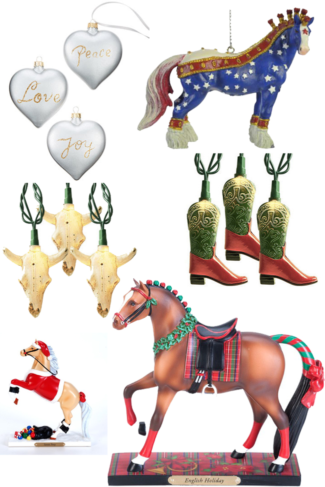 Christmas Decorations for the Horse Lover   Horses & Heels