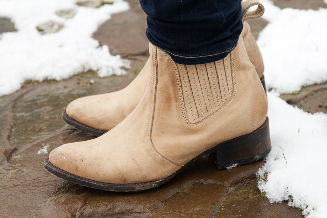 Freebird Boots in Natural