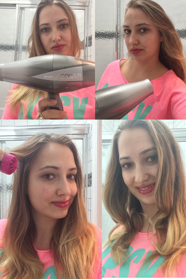 Holiday Hair Curling with Conair