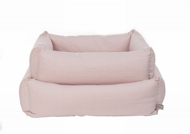Mungo & Maud Pink Dog Beds