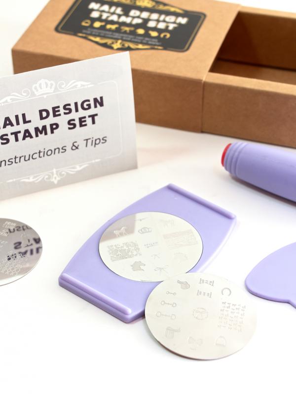 Equestrian Nail Design Stamp Set