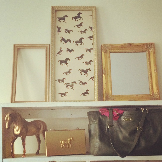 Equestrian Styled Shelf