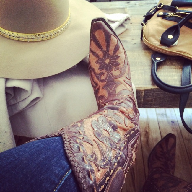 Lane Boots Poison Cowgirl Boots and neutral tones