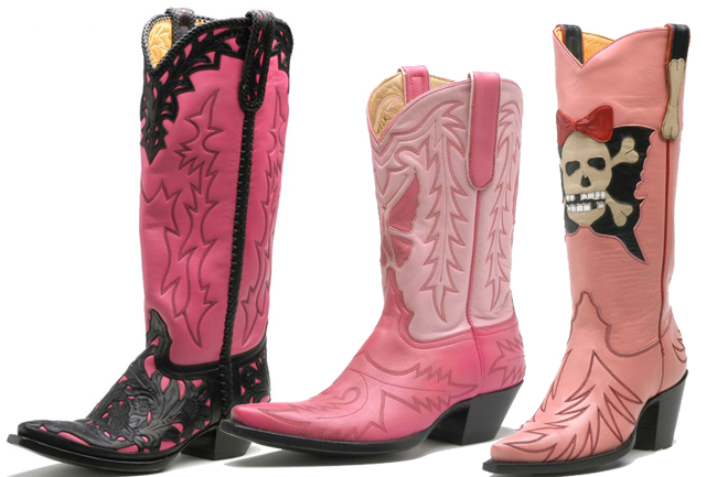 Volume Pink: Liberty Boot Co. | Horses &amp Heels