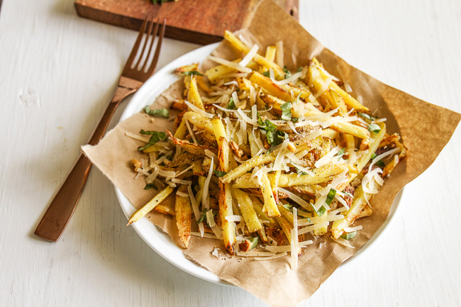 baked seasoned fries with skinny garlic aioli by baked seasoned fries ...