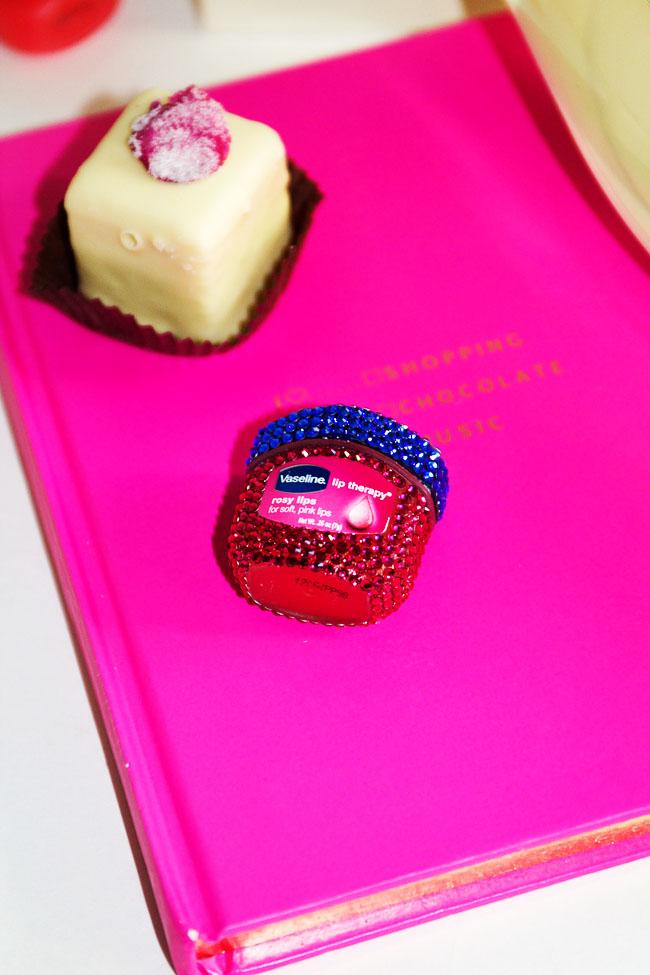 Vaseline Lip Therapy Rosy Lip Bejeweled Jar