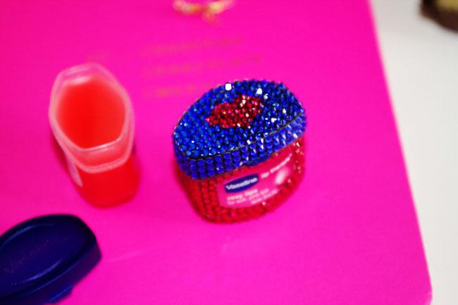 Rosy Valentine's Day Lips