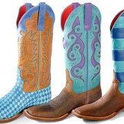 Winter Blues | Macie Bean Cowboy Boots
