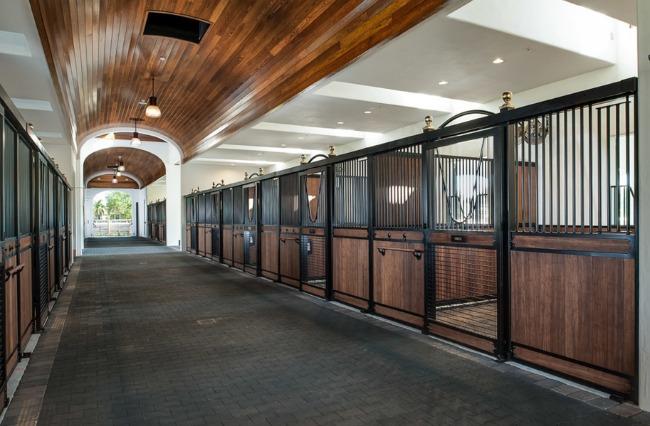 Barn Aisle Envy, Wood Ceilings #horsesandheels