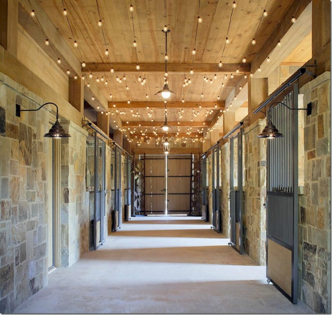 Interior Barn Lights: Stable Style: Aisle Envy