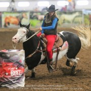 Best of the Best Barrel Race, Raquel and Rumor