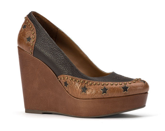 Y Knot Branded Stars At Night Wedge