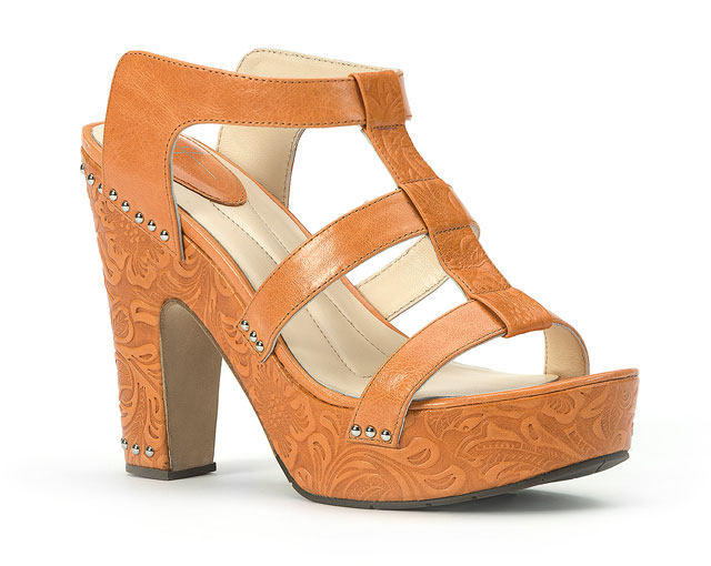 Y Knot Branded Tequilla Sunset Shoe