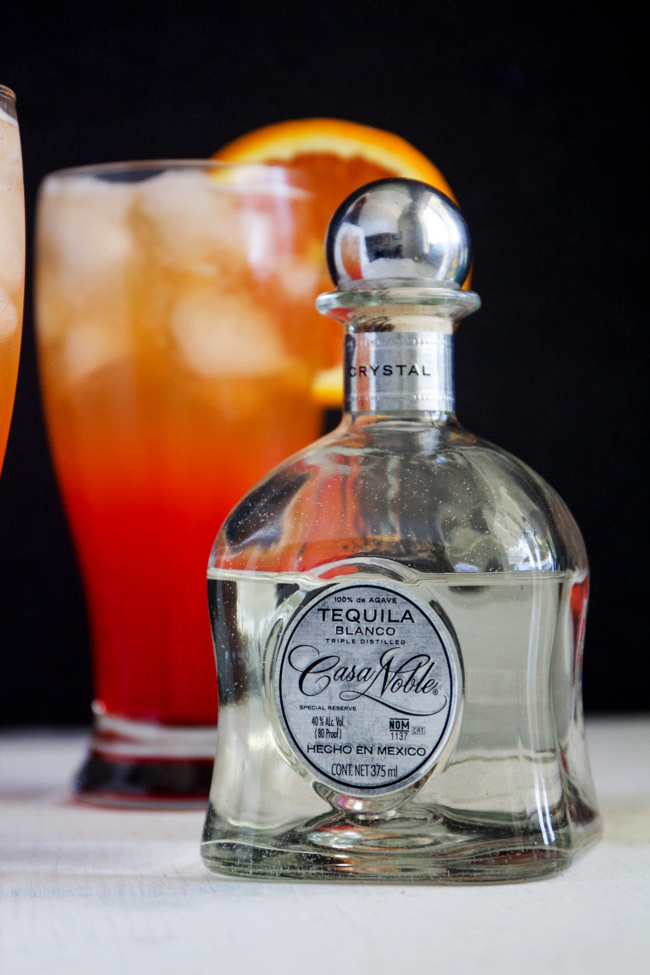 Casa Noble Tequila to make Corona Sunrise Cocktails