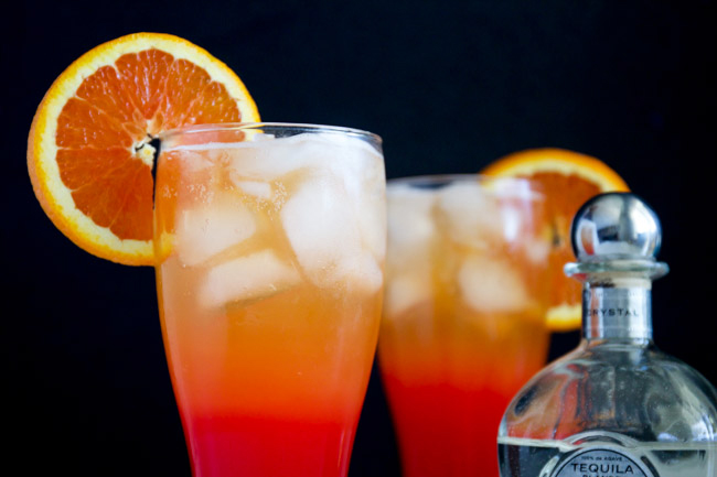 Corona Sunrise Cocktails