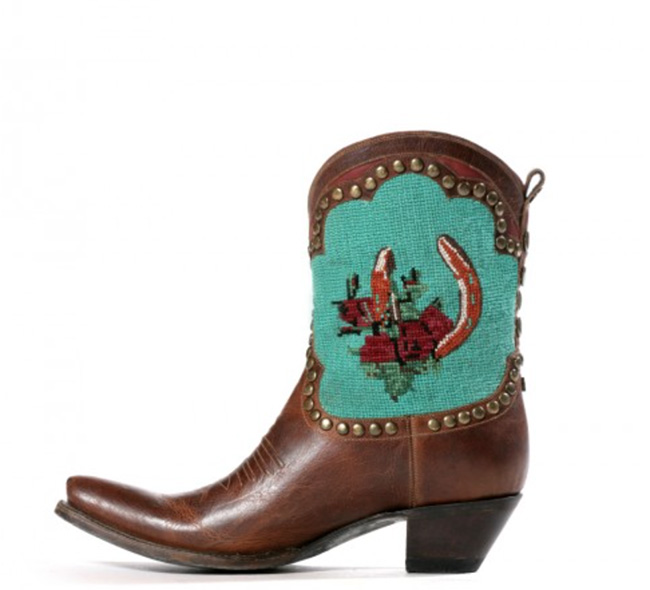Double D Ranch Shadowflax Cowgirl Boot