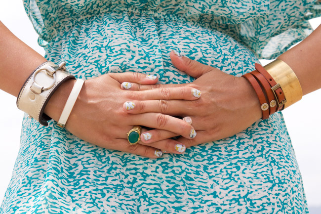 Equestrian manicure and accessories