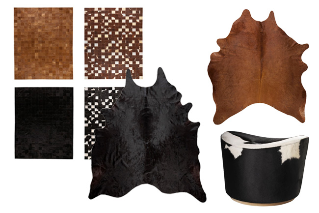 Favorite Cowhide Pieces from IKEA | Horses & Heels
